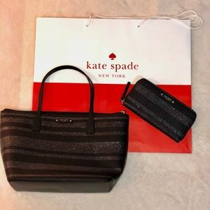 Kate Spade tote and wallet together!